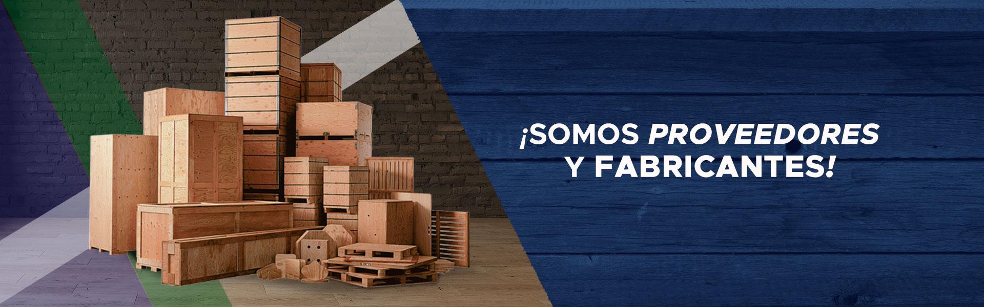 Tarimas, Cajas y Huacales Industriales